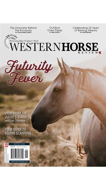 Western Horse Review Magazine screenshot-4