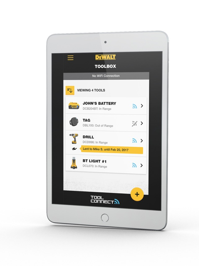 DEWALT Tool Connect on the App Store