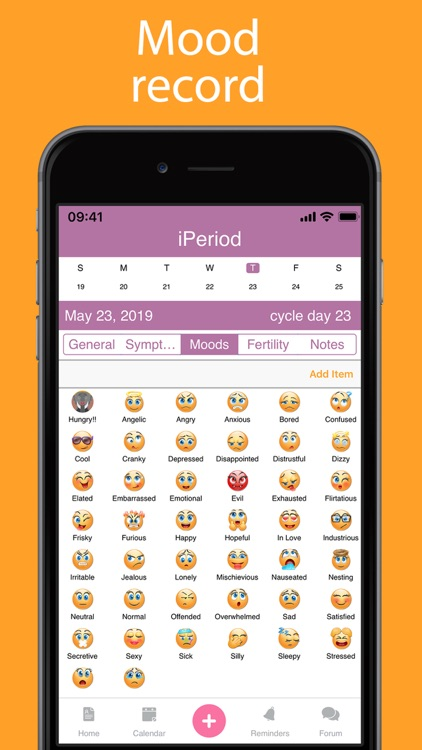iPeriod Lite Period Tracker screenshot-6