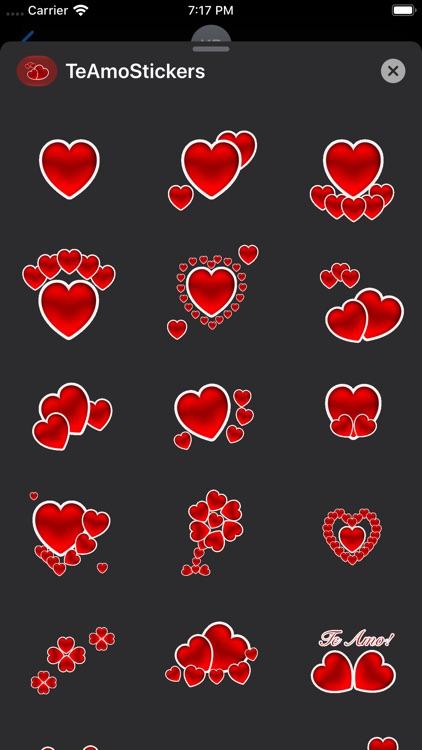Te Amo Stickers screenshot-6