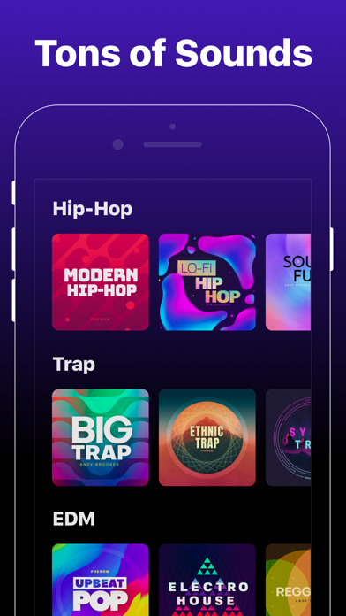 Groovepad - Music & Beat Maker Screenshot