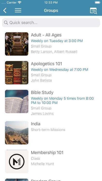 My One Church App screenshot-3