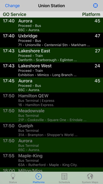 GOToronto: GO Transit Sidekick screenshot-1