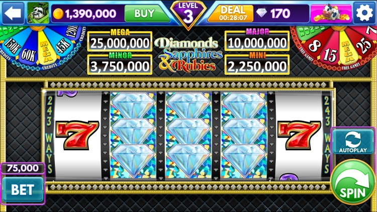 Diamond Sky: Slots & Lottery screenshot-0