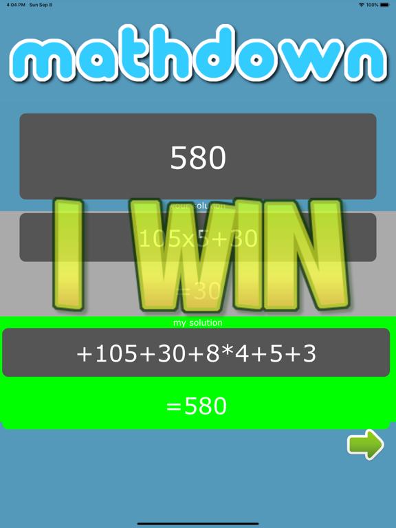 mathdown screenshot 5