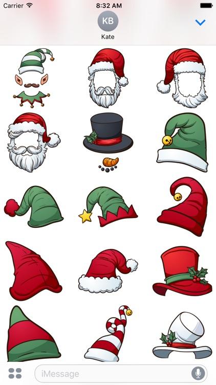Elf U Christmas Stickers screenshot-3