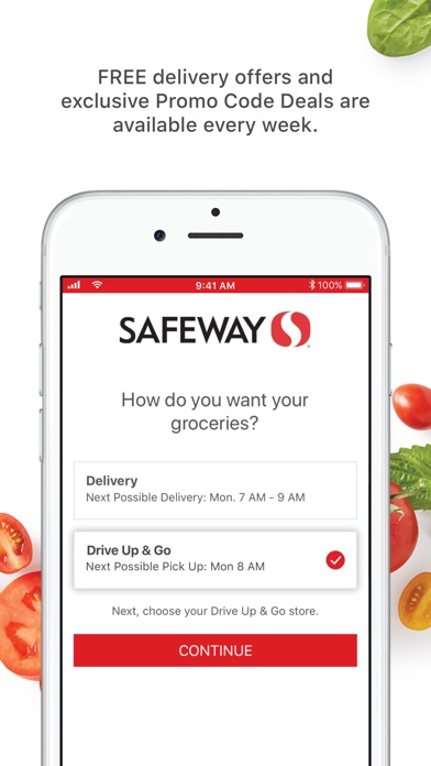 Safeway Online Shopping - App - iOS me