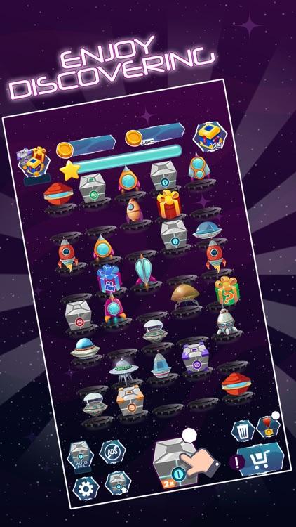Merge Spaceships Galaxy Game screenshot-4