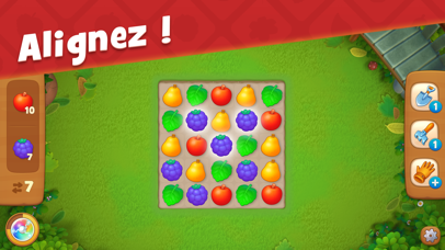 Screenshot for Gardenscapes in France App Store