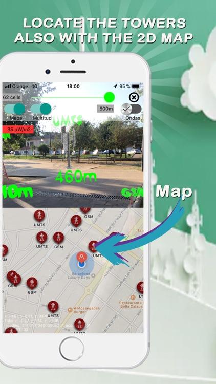 EMF Cell Towers Detector screenshot-4