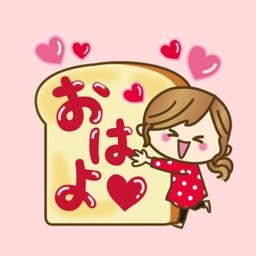 Heart is cute love sticker
