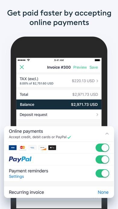 Invoice2go Easy Invoice Maker Screenshot