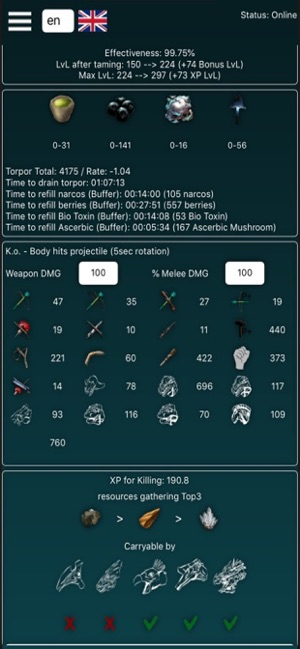 A-Calc for Ark Survival Evolve on the App Store
