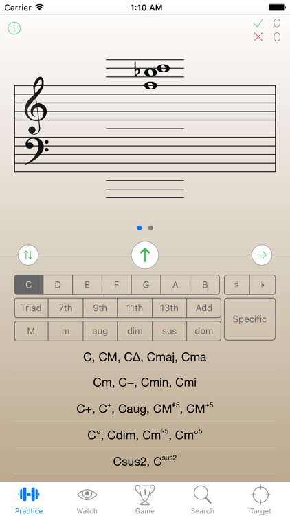 Chords Trainer