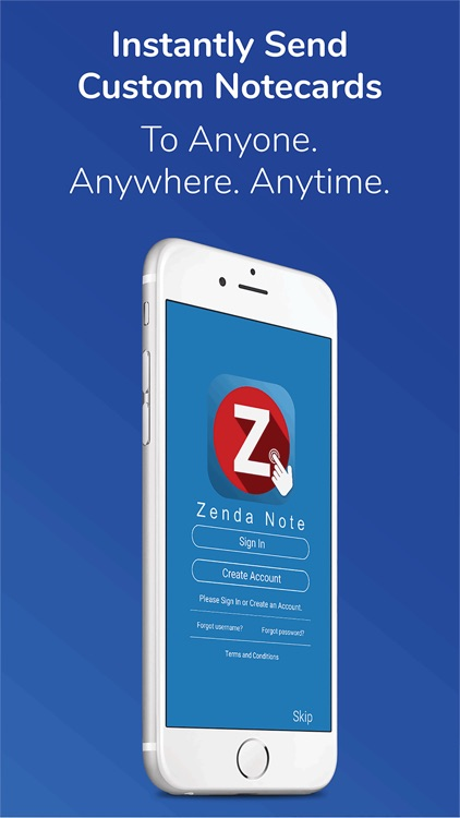 ZendaNote from Click2Mail