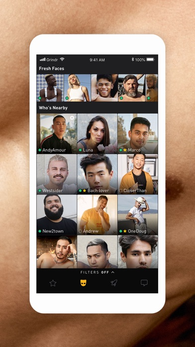 Grindr Gay Chat is a free social networking app by