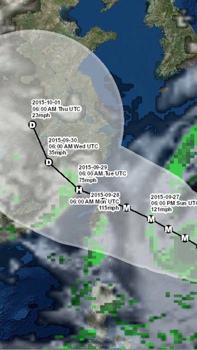 Pacific Hurricane Trackerのおすすめ画像3