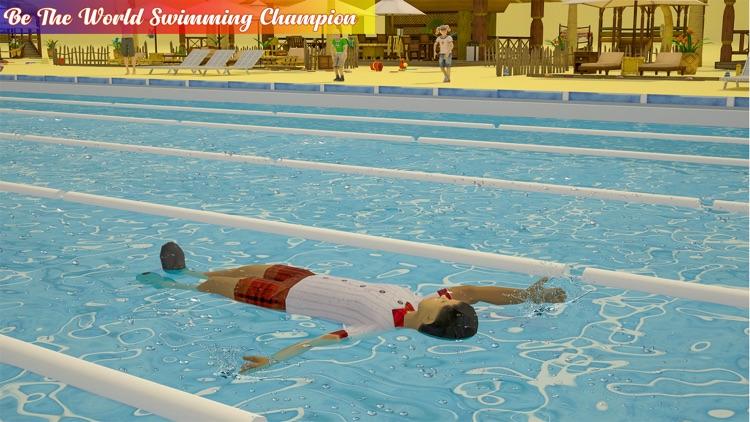 Real Swimming Pool: Water Race