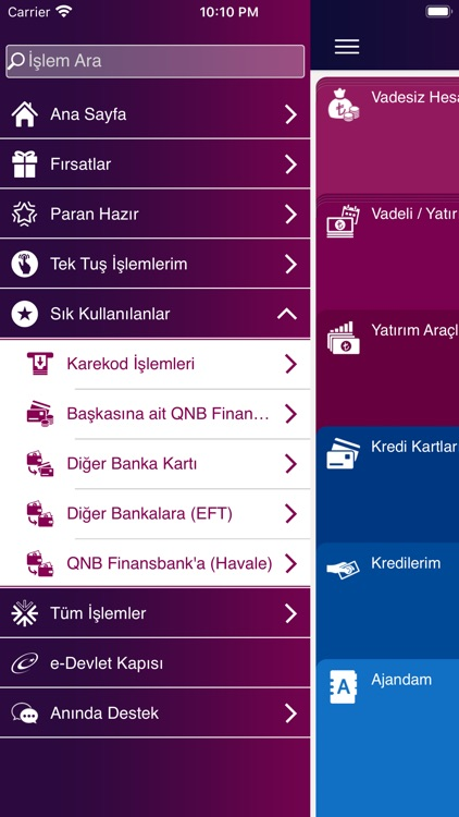 QNB Finansbank Mobile Banking screenshot-2