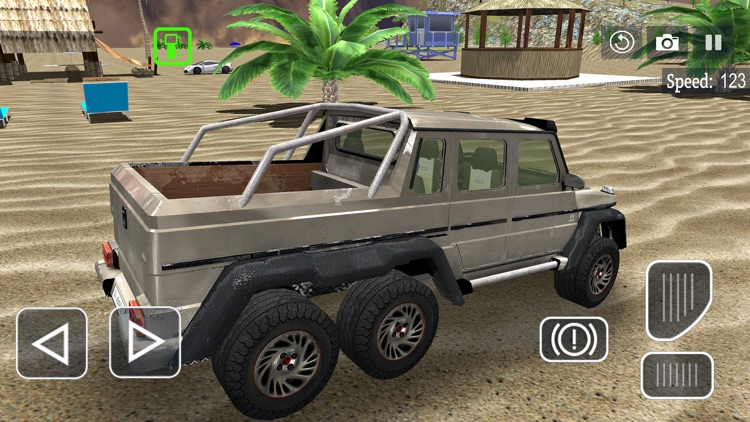 6x6 Offroad Truck Driving Sim screenshot-4