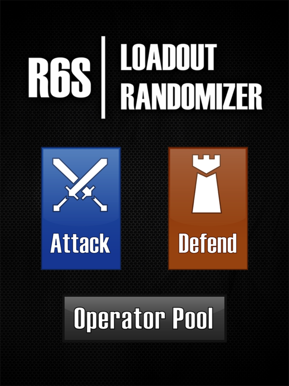 R6S Loadout Randomizer | App Price Drops
