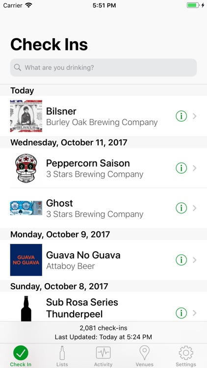 Tappd That for Untappd screenshot-0