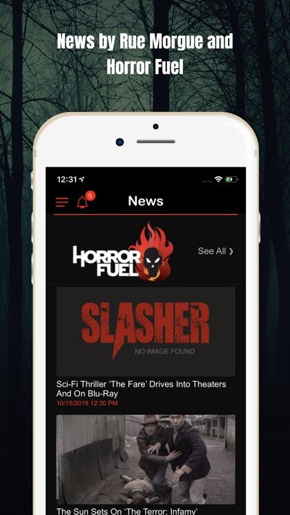 Slasher Horror Social Network