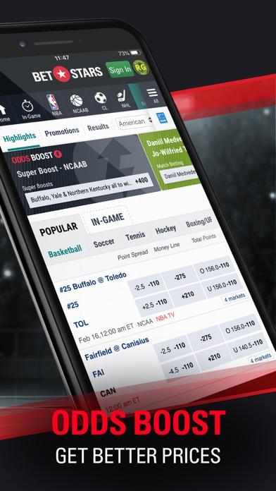 FOX Bet Sportsbook & Casino NJ screenshot 3