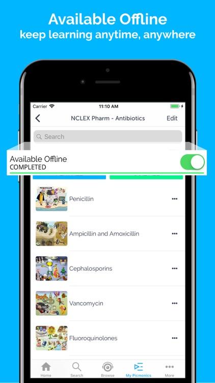 Picmonic: Nursing, NP, NCLEX screenshot-4