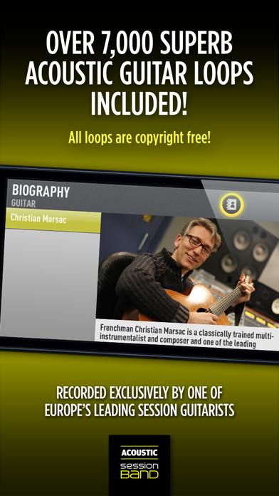 SessionBand Acoustic Guitar 1 Screenshots