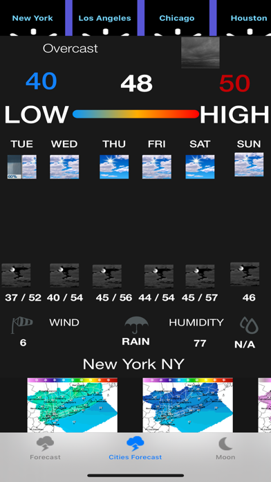 Instant NOAA Weather Forecast screenshot 2