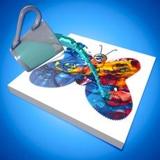 Paint Art 3d - Mix Color