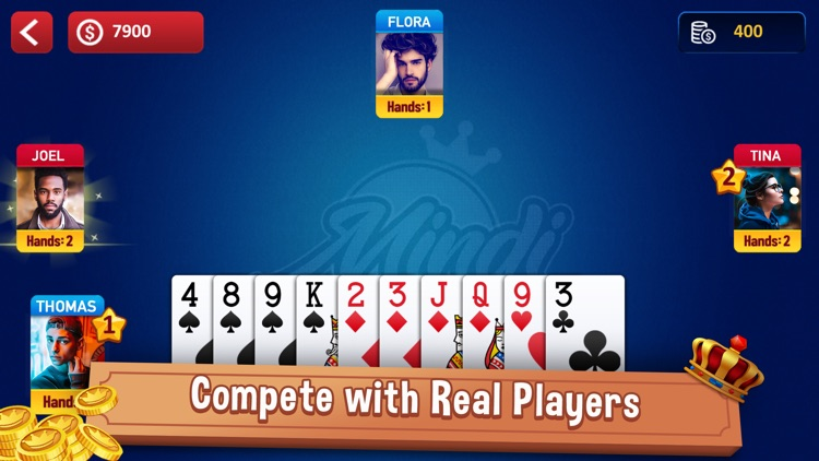 Mindi: Casino Card Game screenshot-3