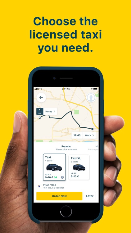 mytaxi: Tap & Move Freely screenshot-3