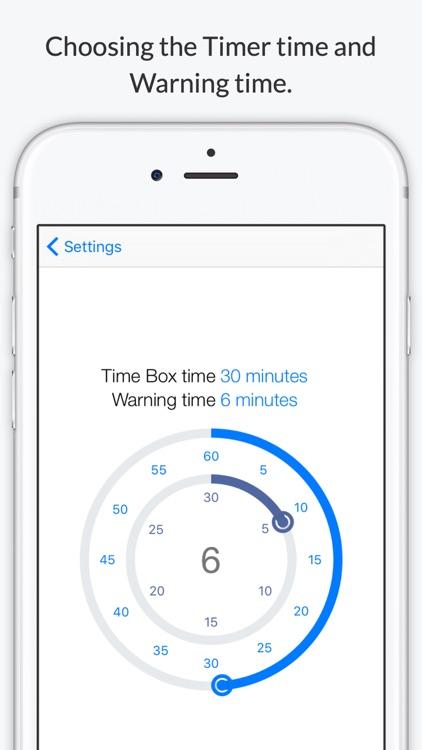 TimeBoxing screenshot-4