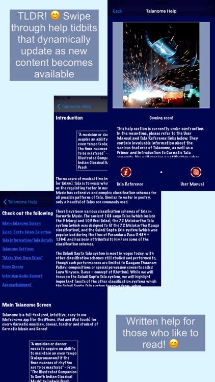 Talanome - Carnatic Metronome screenshot-9
