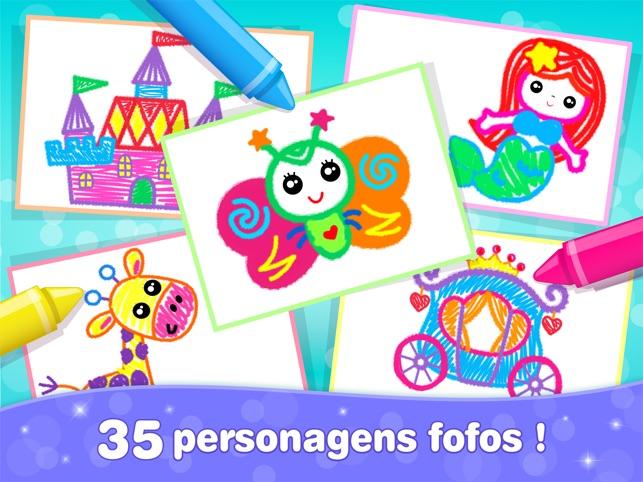 Jogos Pintar Meninas Criancas Na App Store