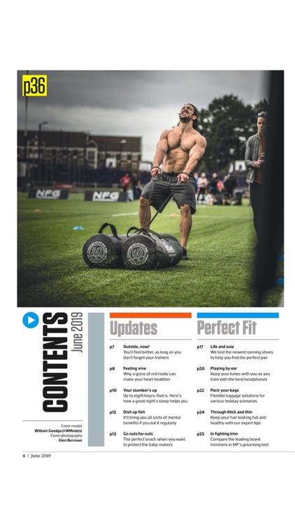 Men's Fitness UK Magazine screenshot-3