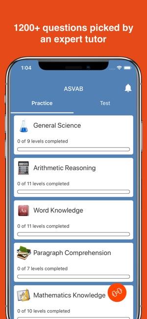 ASVAB Practice Test 2019 on the App Store