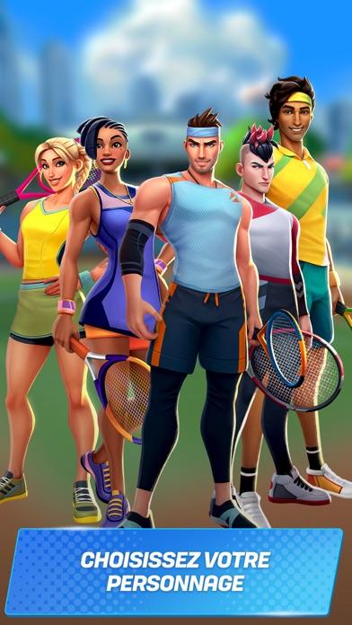 Tennis Clash: Jeu de champions sur pc