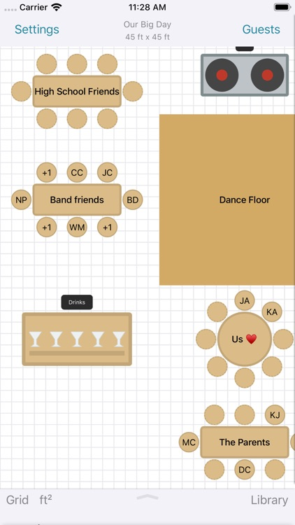 Seat Puzzle for Event Planning screenshot-0