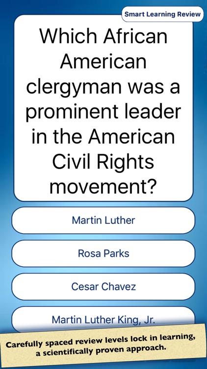 USA American History Quiz screenshot-3