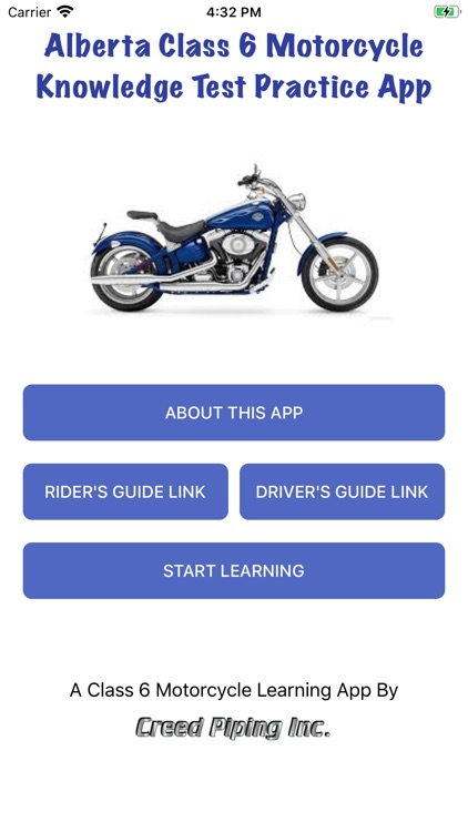 AB Motorcycle Class 6 Test