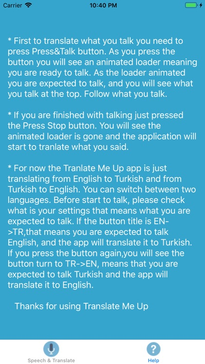 TranslateMeUp screenshot-3