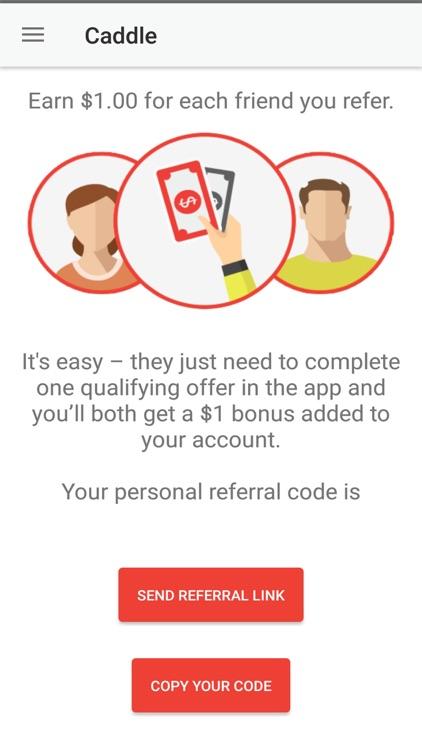Caddle: Cash Back Rebates screenshot-4