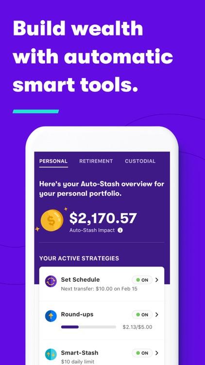 Stash: Invest. Bank. Save screenshot-7