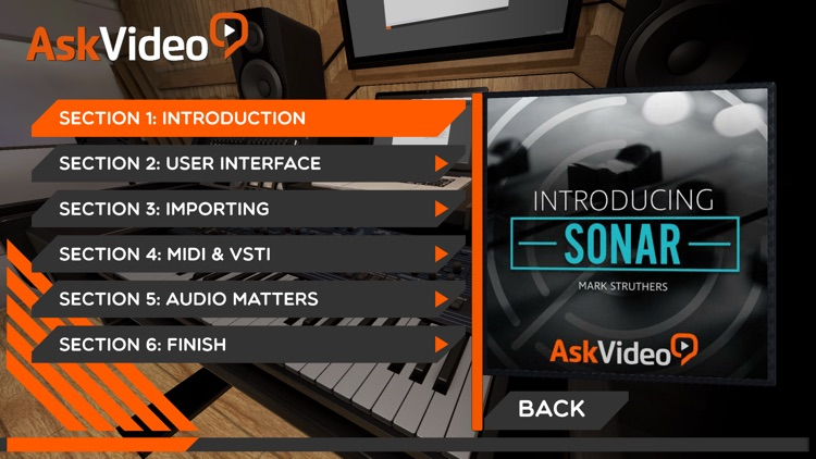 Intro Course For Sonar By AV