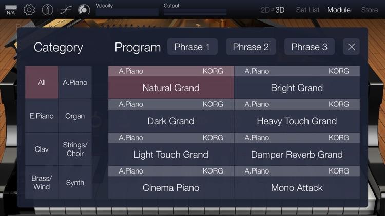 KORG Module Pro screenshot-7