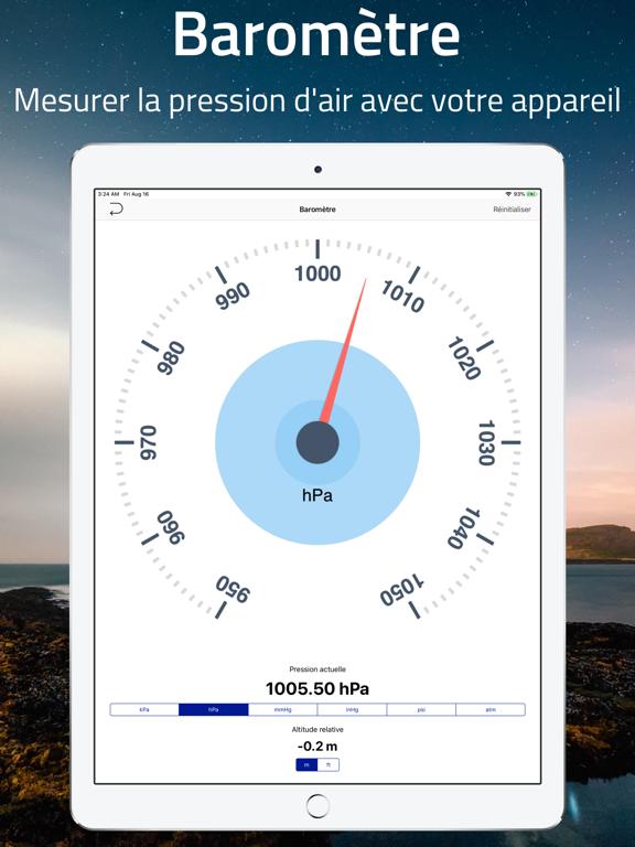 Screenshot #6 pour Élévation - Niveau de la mer