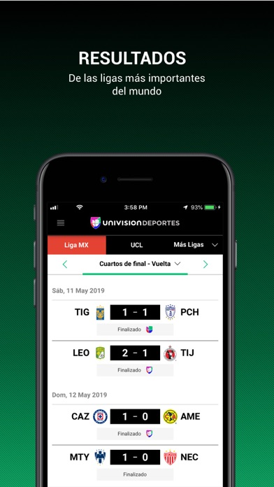 Screenshot for Univision Deportes in United States App Store